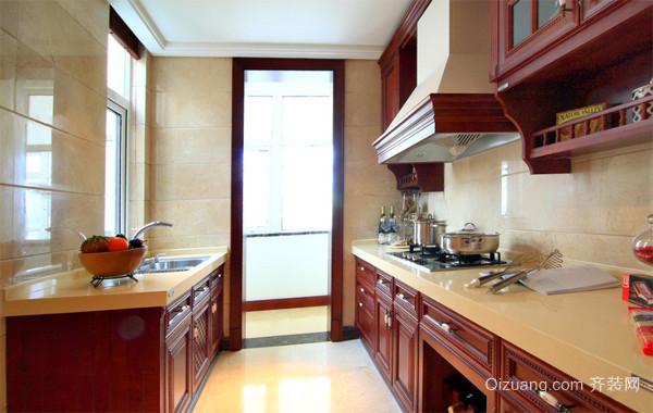 2016大户型美式风格厨房吊顶装修效果图鉴赏