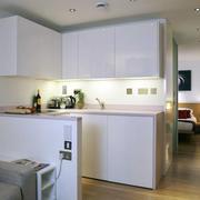白色简约厨房欣赏