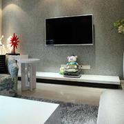 家居电视背景墙装饰