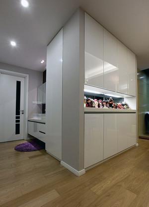 大户型精致美式风格客厅鞋柜装修效果图鉴赏