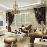 唯美的客厅整体图