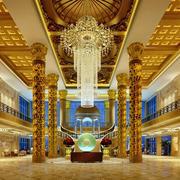 欧式豪华酒店大堂图片