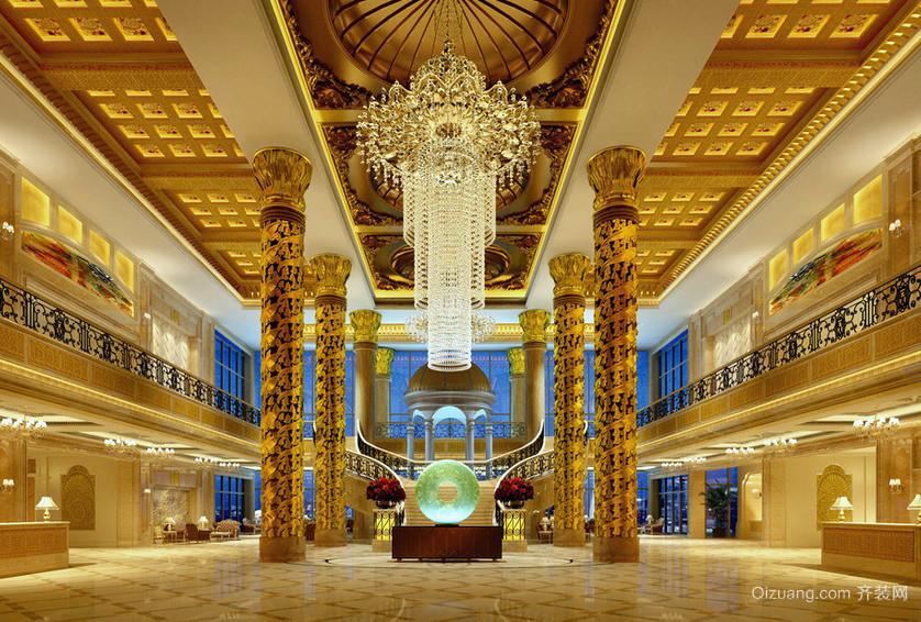 欧式豪华酒店大堂图片图片