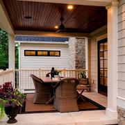 别墅小阳台自然设计