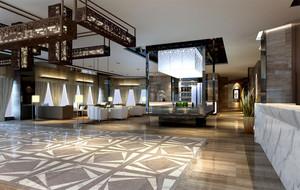 都市奢华8款酒店大堂设计效果图