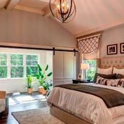 别墅舒适大卧室设计