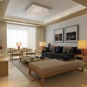 小户型客厅整洁布置