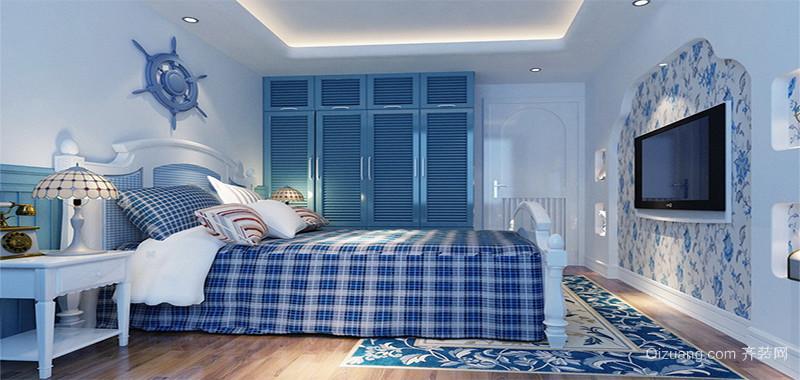 轻松大户型地中海风格儿童房装修效果图