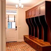 别墅玄关实木柜欣赏