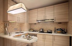 小而精:都市家庭小厨房设计效果图