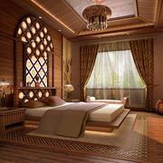 2016暖色调东南亚风格小卧室装修案例