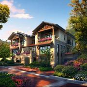 美丽新农村:乡村田园风小洋楼设计图