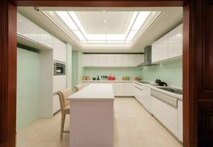 优雅美式133平米家居简约装潢效果图