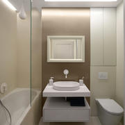 小型公寓3平米简约卫生间装修效果图