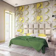 复式楼卧室床头个性设计