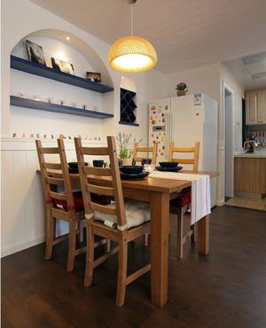 两居室74平米婚房混搭风格小户型家装案例
