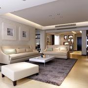 明亮通透的简约风小客厅装修效果图