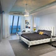 别墅现代卧室展示