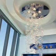 别墅梦幻水晶吊灯展示