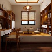 2016日式传统榻榻米书房装修效果图
