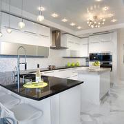 别墅精致厨房展示