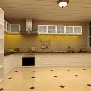 温馨暖色调厨房欣赏