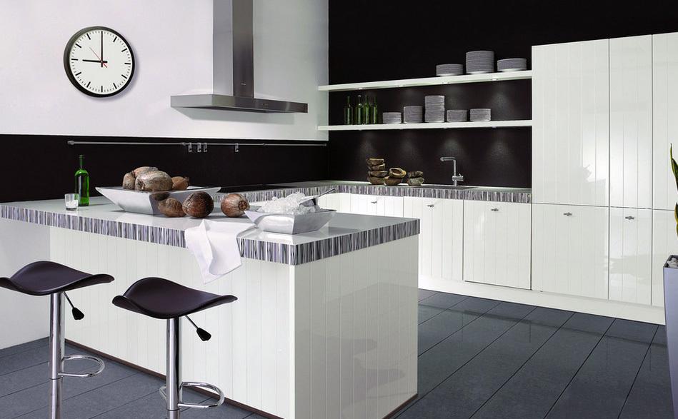2016小户型欧式厨房装修效果图实例欣赏