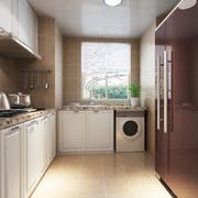 L字型厨房图片