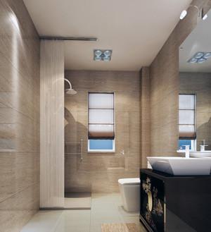 90平米大户型欧式卫生间吊顶装修效果图片