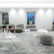 小户型客厅地毯图片