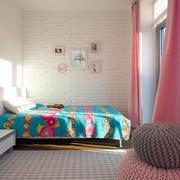 田园粉色风卧室展示