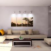 92平米小户型客厅简约装修效果图欣赏