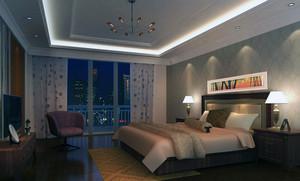 120平米大户型房子卧室吊顶装修效果图鉴赏
