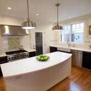 时尚现代化厨房图片