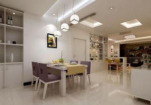 三室两厅两卫餐厅现代风格装修设计图