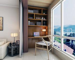 别墅型现代唯美的阳台装修效果图实例