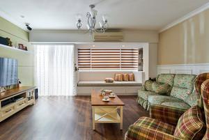 舒适暖意:两室一厅田园风格装修效果图