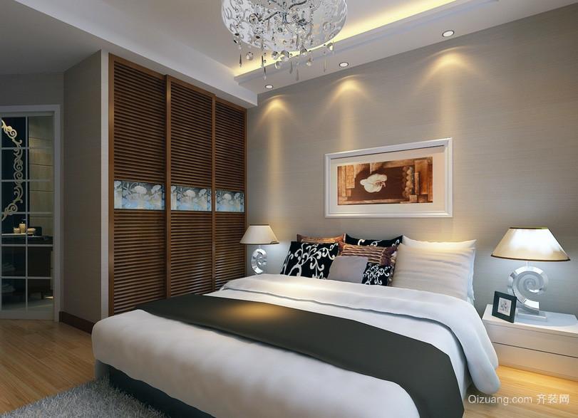平米大户型房子卧室吊顶装修效果图鉴赏 齐装网装修效果图