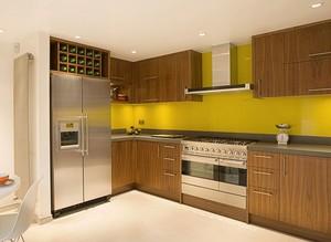 都市现代大户型整体厨房设计图片