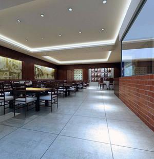 2016都市饭店室内吊顶装修效果图实例