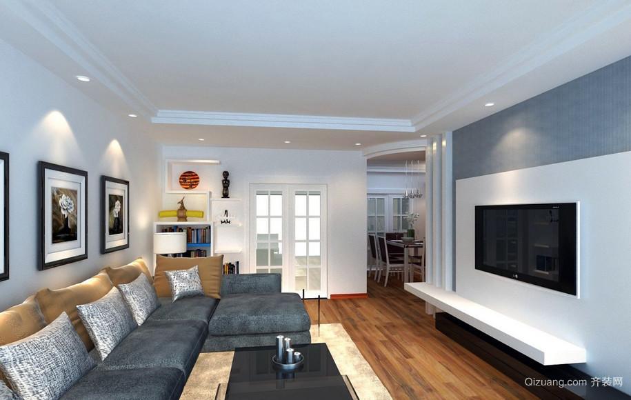 都市新房小户型客厅设计效果图欣赏