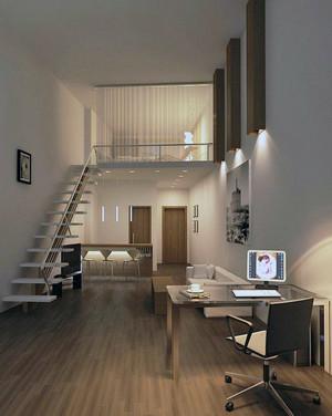 大户型欧式风格斜顶阁楼室内装修效果图