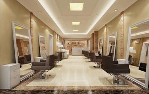 改变从头开始之大型现代奢华理发店效果图