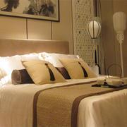 温馨舒适的大户型中式卧室装修效果图案例