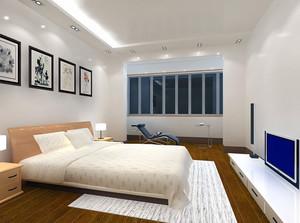 100平米欧式室内卧室吊顶装修效果图案例