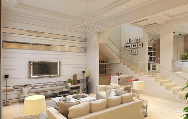 惹人喜爱的都市前卫小客厅装修效果图