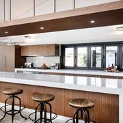 独栋小别墅开放式厨房简约装修设计图