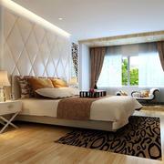 卧室床头软包背景墙