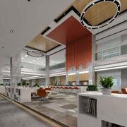豪华大型办公室个性设计