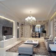 灰白色客厅时尚设计